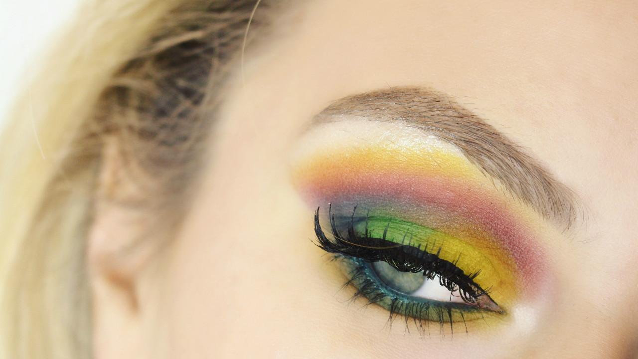 rainbow eye cover